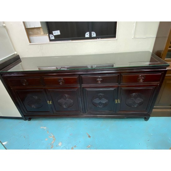 CHINESE-STYLE ROSEWOOD CABINET