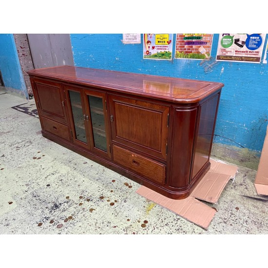 Chinese-style Rosewood Cabinet (85% NEW)