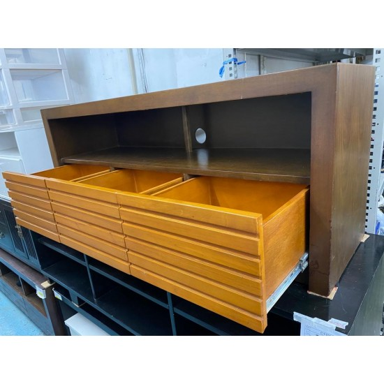Solid wood TV Cabinet (75% NEW)