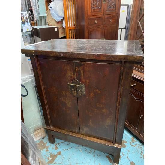 Nostalgic Chinese style solid wood cabinet