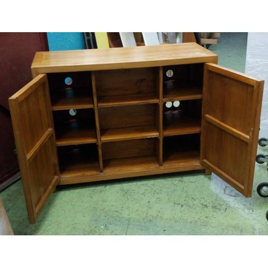 Elm storage cabinet