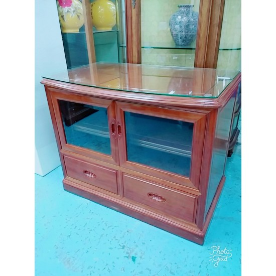 Rosewood Sideboard with 2 doors+2 drawers