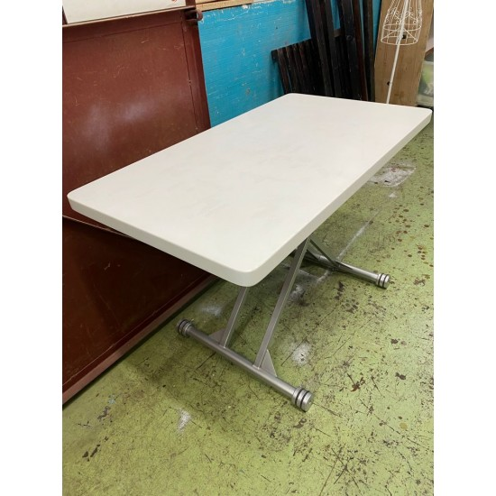 WHITE TABLE (75%NEW) (SOLD)