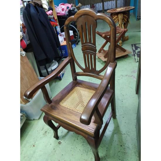 Teak arms chair