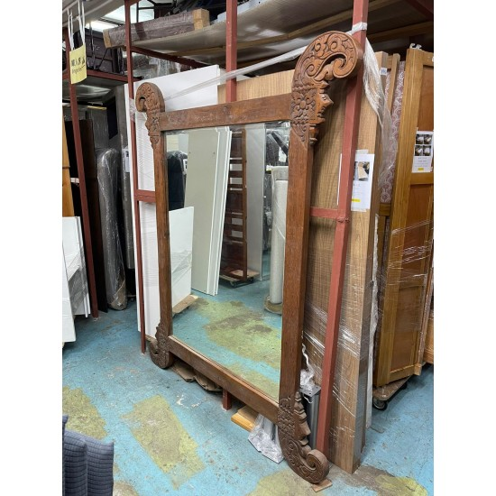 Mirror with Solid Elm frame