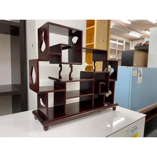 Rosewood accessories shelf