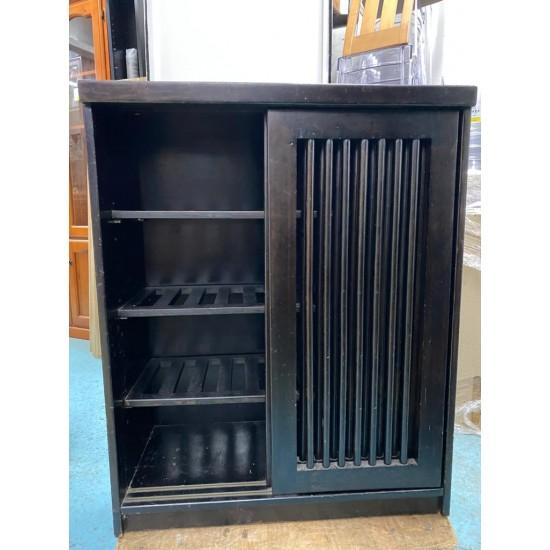 Camphor wood shoe cabinet