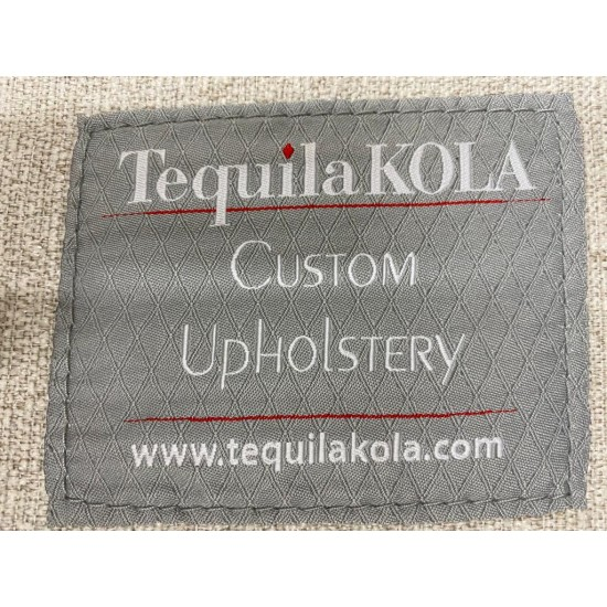 TequilaKOLA Fabrics Sofa (80% NEW) (Sold)