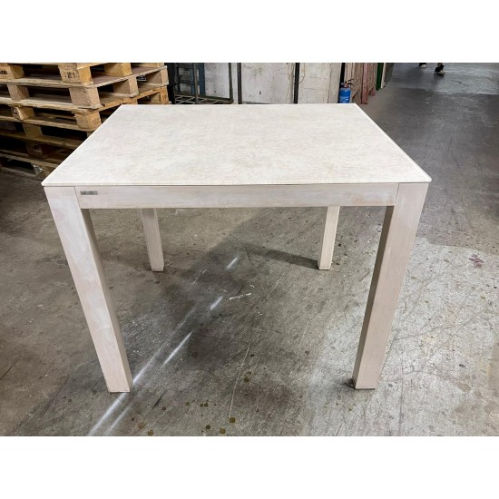 Solid wood Glass-top Table (75% NEW)